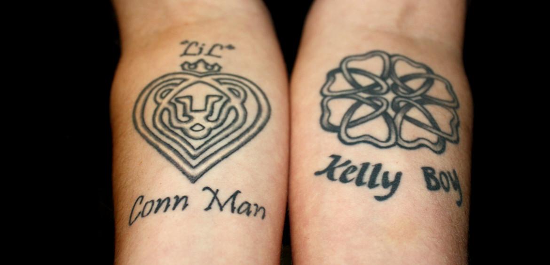 Stacey Gannon tattoos
